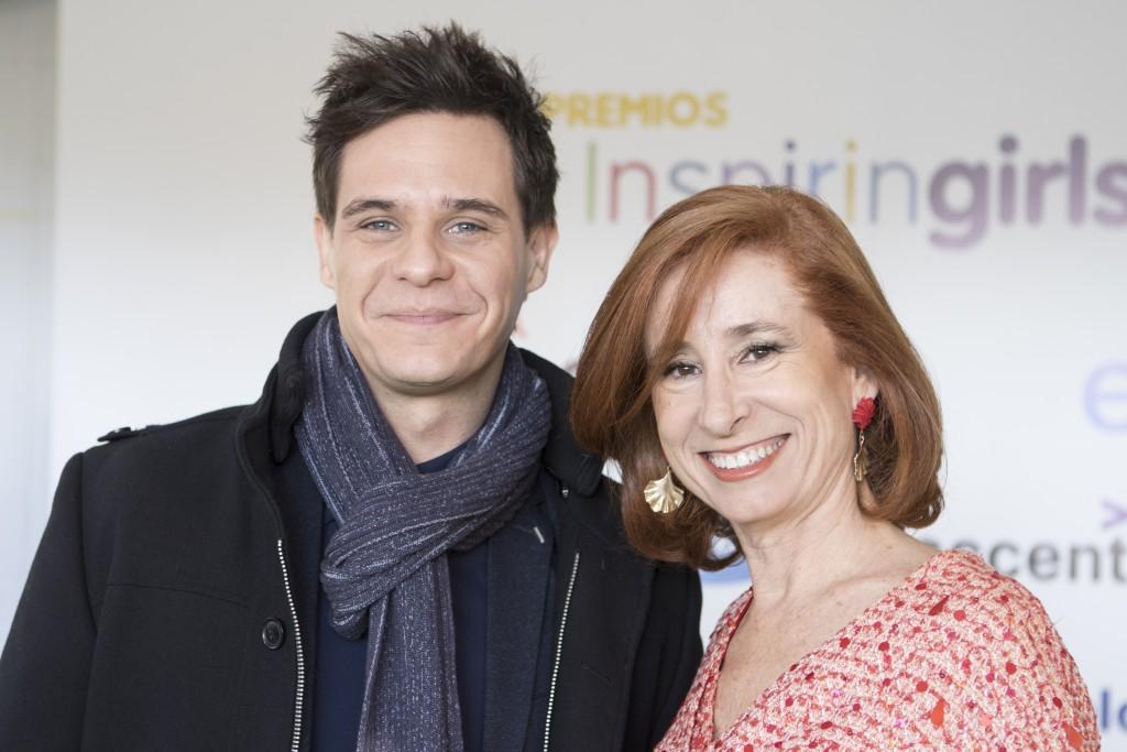 Christian Gálvez y Marta Pérez