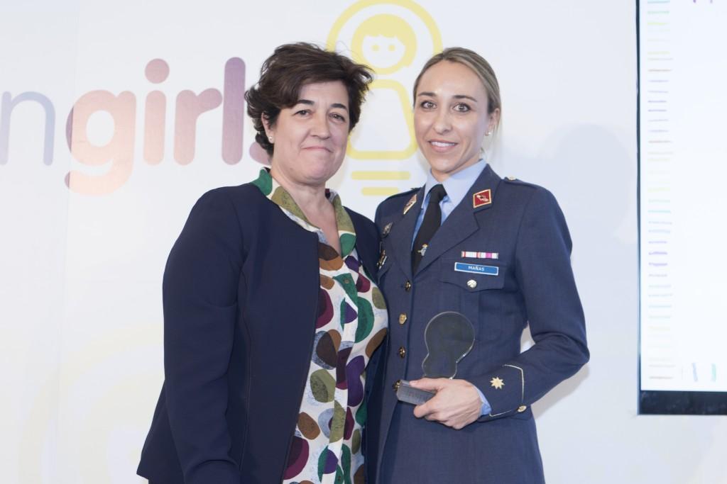 Elena Pisonero y Pilar Mañas