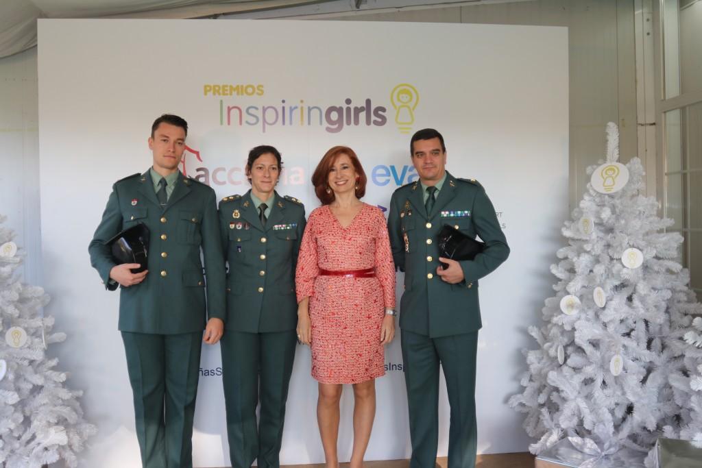Guardia Civil y Marta Pérez