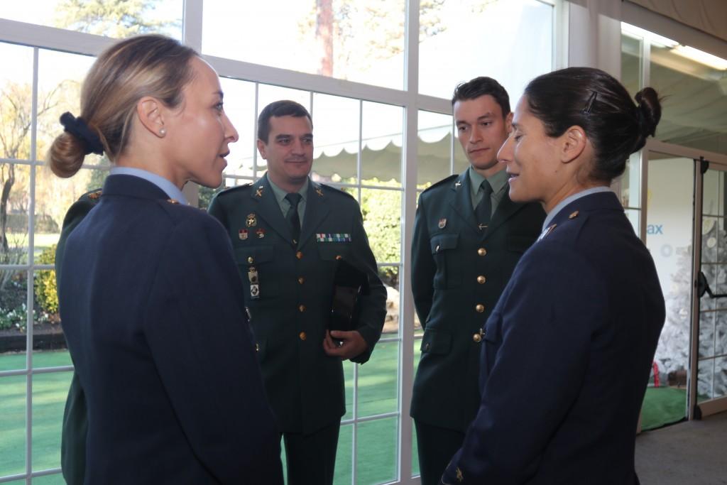Ejercito del Aire y Guardia Civil