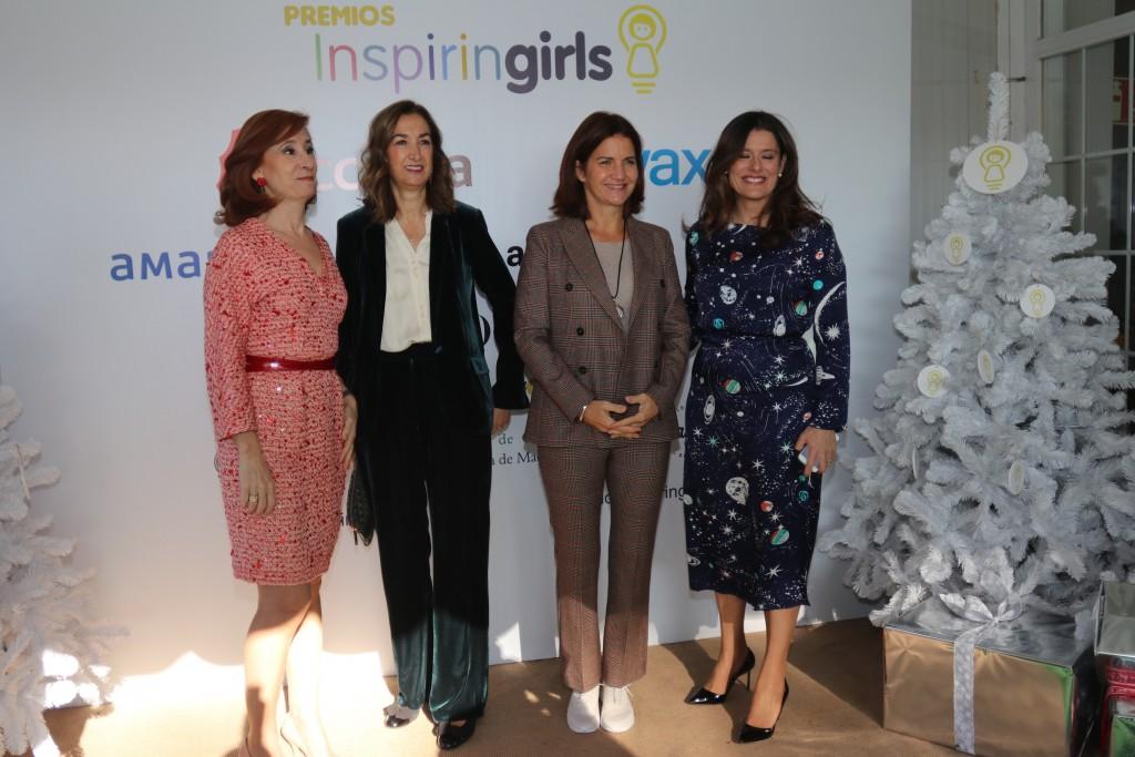Marta Pérez, Marta Michel, Samantha Vallejo y Miriam González