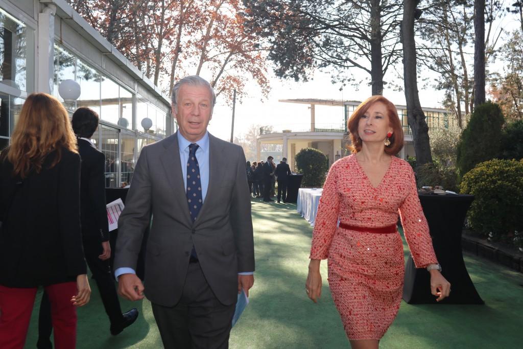Joaquin Mollinedo y Marta Pérez