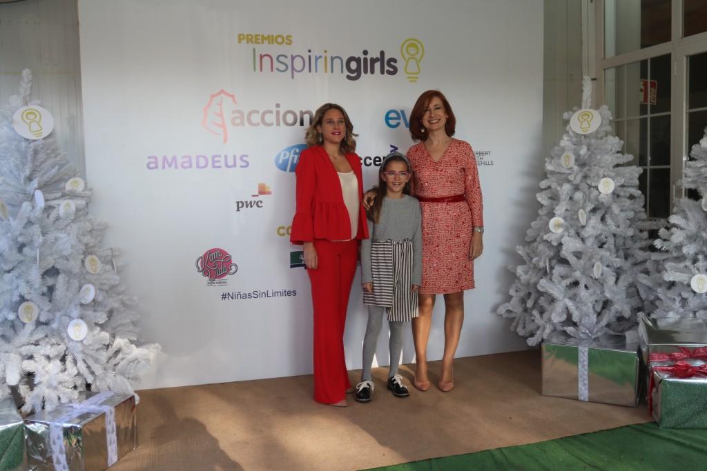 Paula Gómez, Valeria Corrales y Marta Pérez