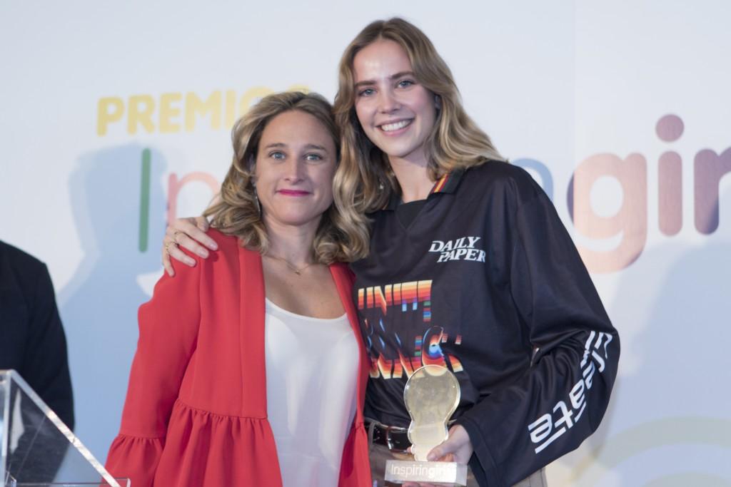 Paula Gómez y Brisa Fenoy