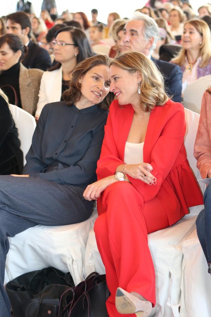 Nathalie Picqot y Paula Gómez