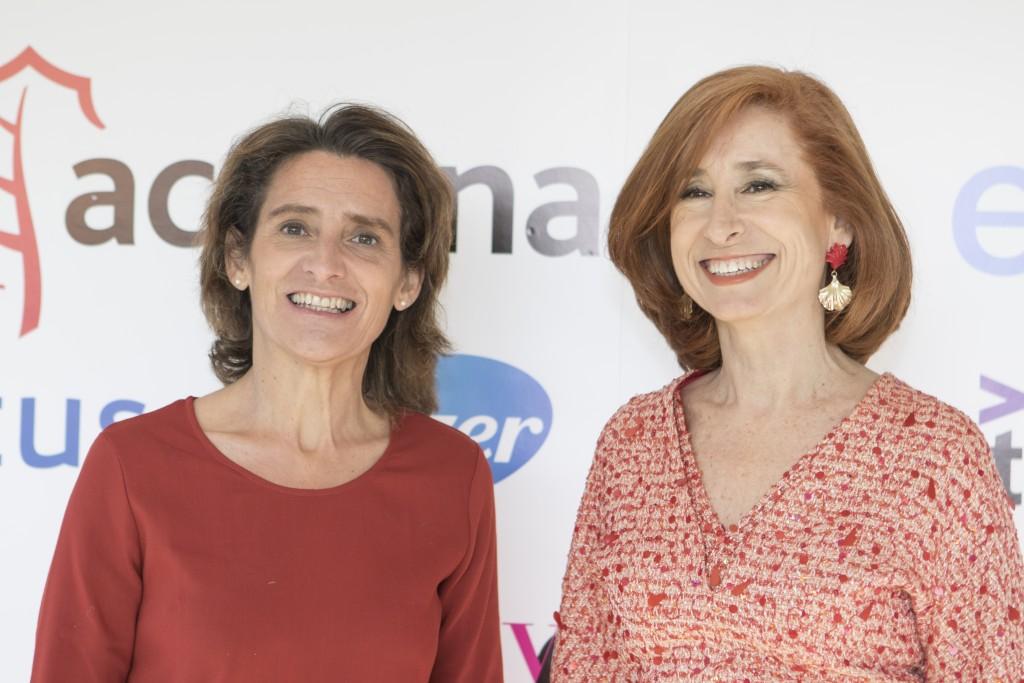 Teresa Ribera y Marta Pérez