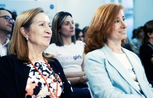Ana Pastor, Patricia Heredia y Marta Pérez