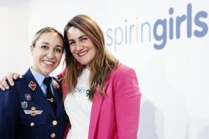 Pilar Mañas y Carlota Corredera
